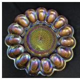 Carnival Glass EggPlate