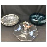 Glass Bowls and Hors d