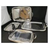 Set of Serving Trays by Faberware