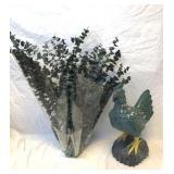 Eucalyptus and Resin Ornate Chicken