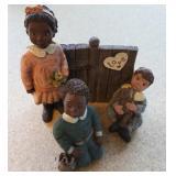 Love Starts with Children Figurine Set