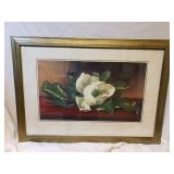 Magnolia Print by Martin Johnson Heade
