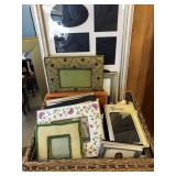 Large lot of assorted picture frames