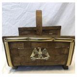 Decorative Firelog Basket