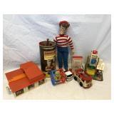 Large Lot of Vintage Toys