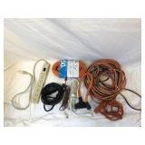 Assorted Lot Of Extension Cords