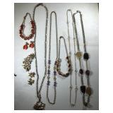 Gold Tone Jewelry Lot