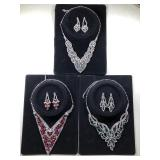 Three Costume Jewelry Sets