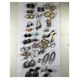 Large Assorted Lot Of Earrings