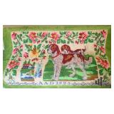 1925 Hand Stitched Tapestry