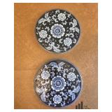 Pier One Blue and White Trivets