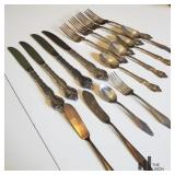 Mixed Silverplated Flatware