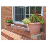 Flower Pots and Outside Decor