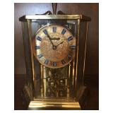 Kundo Brass and Glass Clock