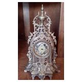 Peter Brass Mantle/Shelf Clock