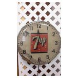 Vintage 7up Wall Clock