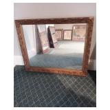 Electro Copper Plated Mirror by Willard Mirror Co.