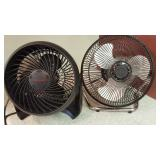 Pair of Small Fans