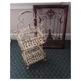 Double Door Metal Cage and Metal Frame