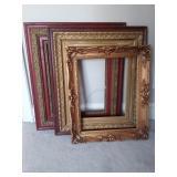 3 Antique Gilded Frames