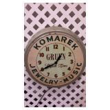Vintage Komarek Wall Clock