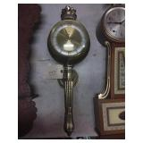 Westwood & Day Brass Sconce Clock