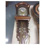 Beidt Uw Tyd Hanging Pendulum Clock