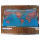 Kilburg Geochron World Clock