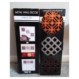 3 Piece Metal Wall Decor (2 sets)