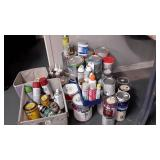 Assorted Paints, Wood Stains, Wall Puddy & More