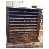 Brainerd & Armstrong Co. Spool Cabinet