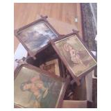 Vintage Picture Frame Lot