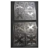Box of Tin Square Tiles
