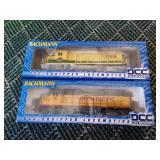 2 Bachman Train Cars