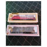 2 Bachman Lighted Train Car