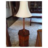 Side Table Floor Lamp