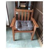 Teakwood Slat Chair