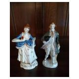 Occupied Japan Porcelain Figurines