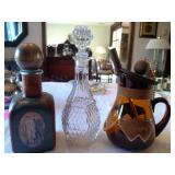Vintage Barware and Decanters