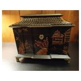 Oriental Pagoda Jewelry Box