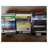 Small Collection of Family Friendly VHS