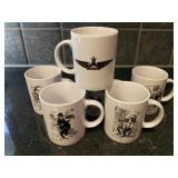 Delta Airlines Comic Mugs