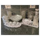 11 Piece Cut Glass Assortment