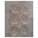 Set of 6 Glass Coasters