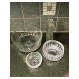 Salad Service Glassware