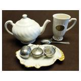 Tea Pot and Accessories