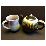 Handmade Tea Pot & Mug