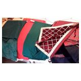 Holiday Colored Linen  Table Clothes