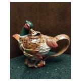 Fitz & Floyd Decorative Pheasant Tea Pot