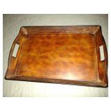 Wood Like Tray